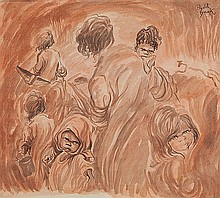 ELIZABETH DURACK (1916-2000) FAMILY GROUP Signed