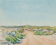 GEORGE COURTNEY BENSON (1886-1960) LANCELIN Signed