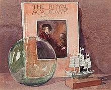 CYRIL GEORGE LANDER (1892-1983) THE ROYAL ACADEMY