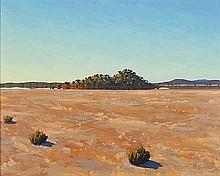 NIGEL HEWITT (B. 1952) MORNING ON LAKE MONGER