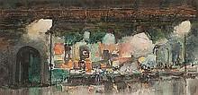 CYRIL GEORGE LANDER (1892-1983) PARIS BOOK STALLS