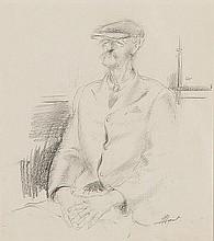 PERCY IVOR HUNT (1903-1971) TRAM TRAVELLER Signed
