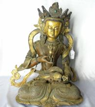 Antique Patinated Hindu Solid 24