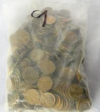 Huge Unsearched Lot of Wheat Pennies From a 92 Year Old Man's Estate (Approx. 475)