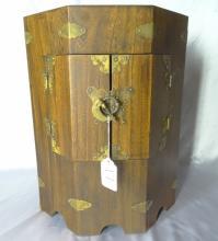 19th C. Oriental Octogonal Wooden 19