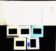 The Beach Boys 1970's NEVER BEFORE SEEN (5) Photo Slides in Envelope W/Handwritten Notes on Envelope