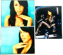 Aaliyah (3) Press/Promo ORIGINAL 13.75