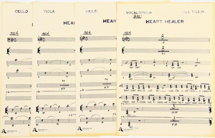 Mel tillis heart healer vocal group cello viola violi for Vocal house music charts