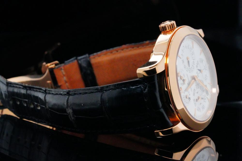 Jaeger LeCoultre Master Eight Days Perpetual Watch