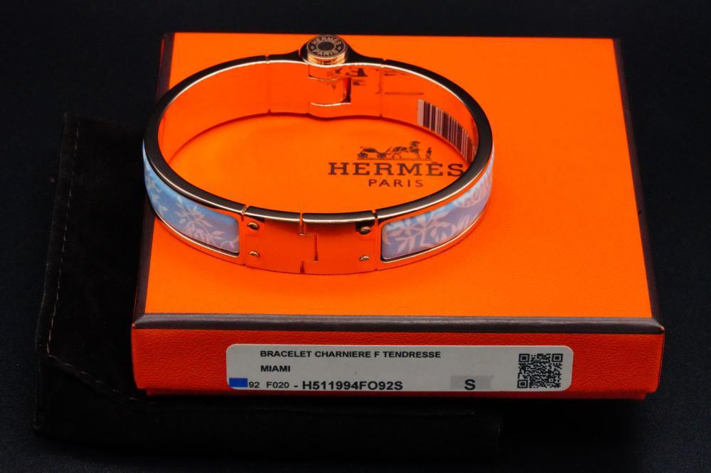 Hermes Tendresse Feline Tattoo Charniere Uni Bracelet