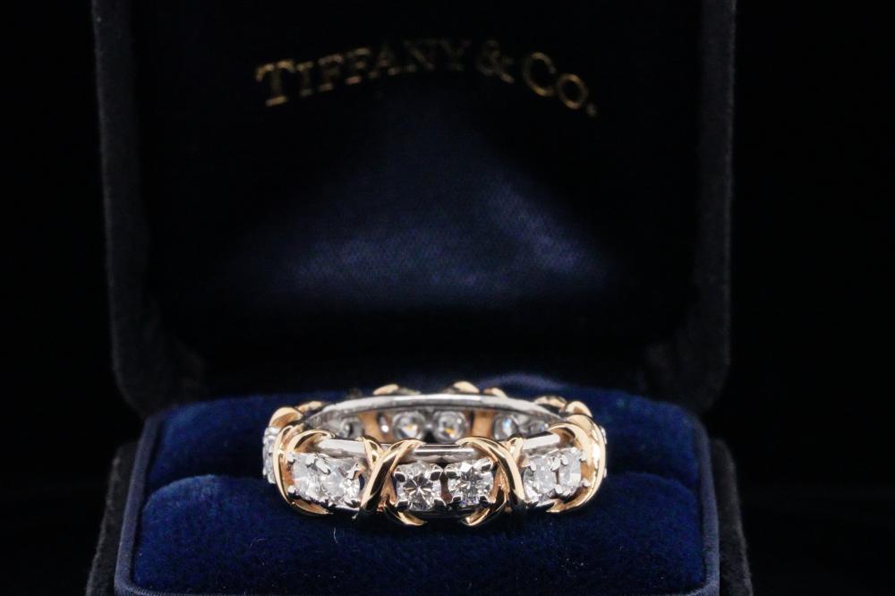 Tiffany & Co. Schlumberger 1.14ctw Diamond Ring