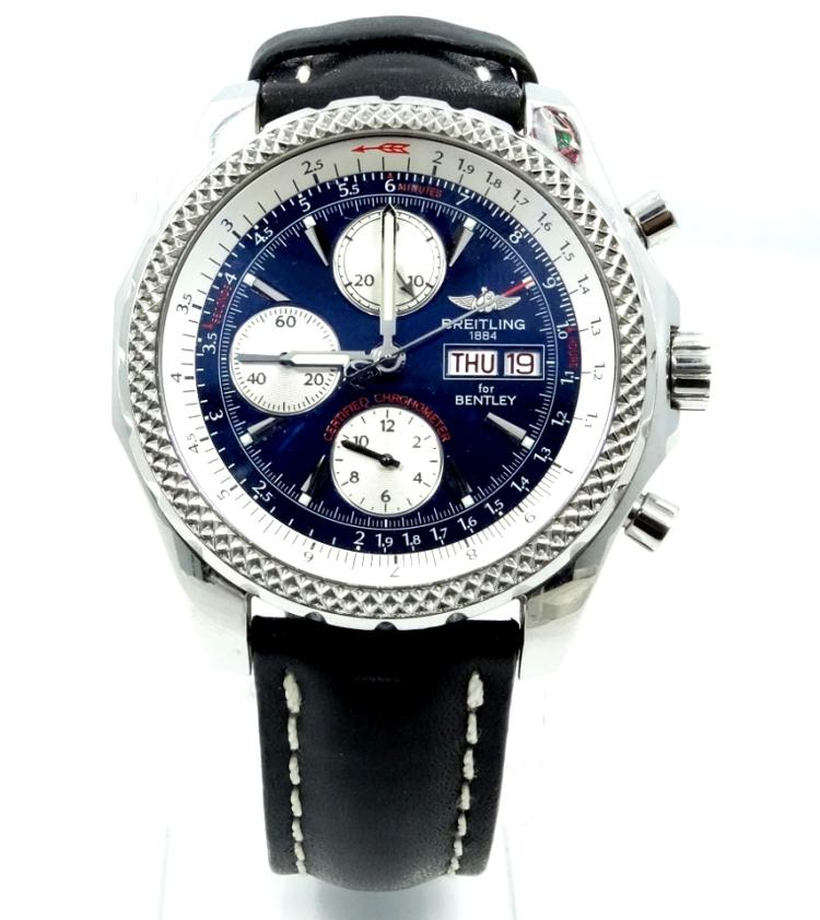 Breitling Bentley Gt Wristwatches: BREITLING BENTLEY MOTORS GT SPECIAL EDITION MODEL: A13362 CH