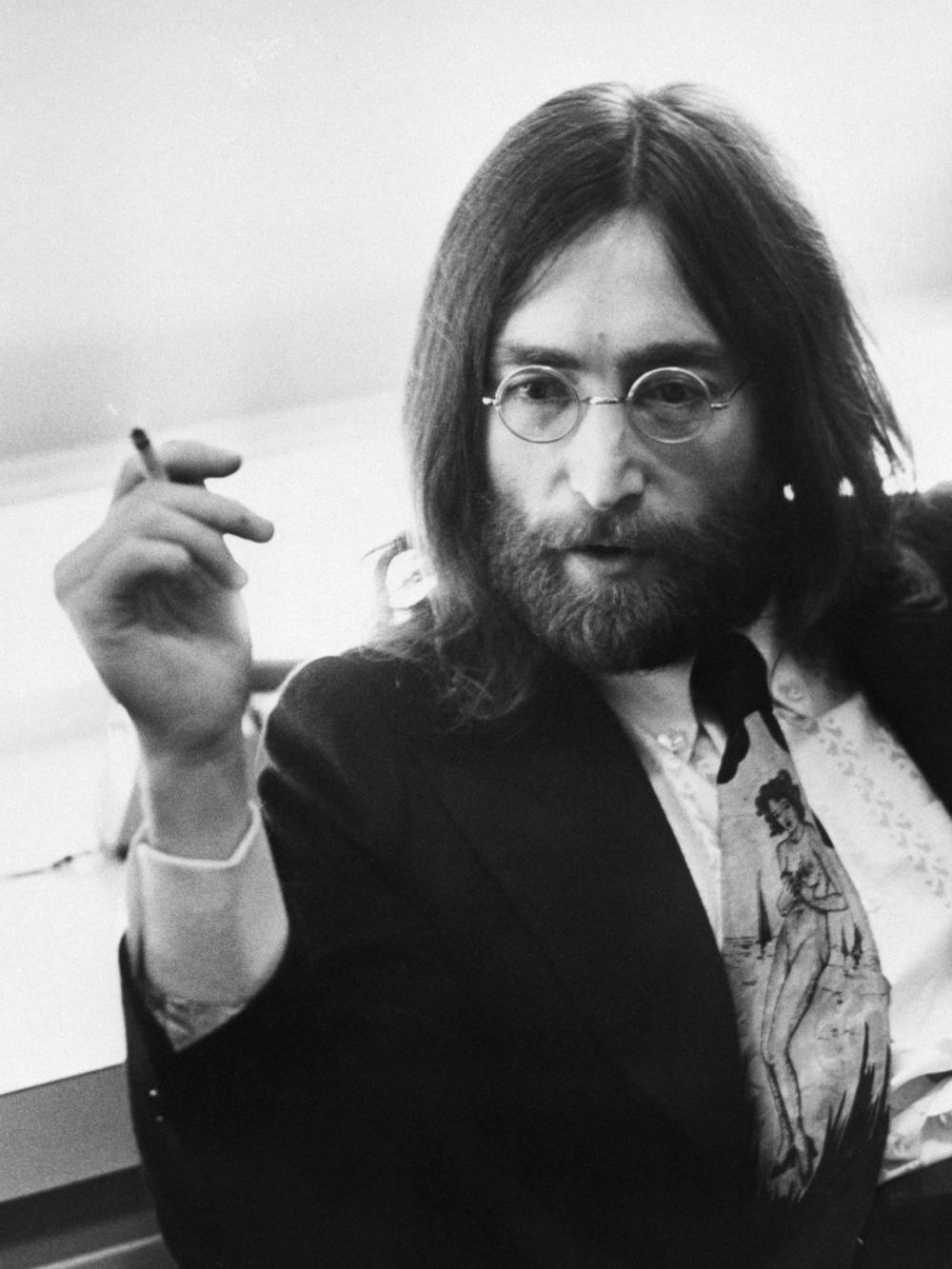 John Lennon's Windsor Eyeglasses W/LOA