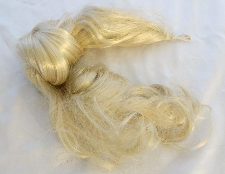 Madonna Blonde Ponytail Extension Worn in Tokyo By Madonna on the Blond Ambition World Tour, 1990 W/COA