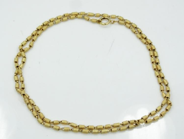 Vintage Solid 18K Yellow Gold