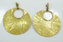 Vintage Handmade Solid 18K Yellow