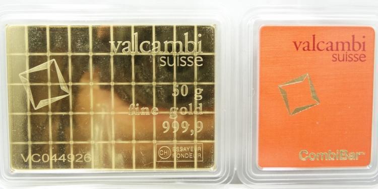 50 Gram Solid .9999 Fine Gold