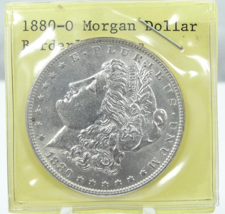 1880-O Morgan Silver Dollar (90% Silver) MS65