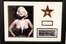 Marilyn Monroe's Hair Pin in Framed Presentation W/COA *Museum Exhibited*