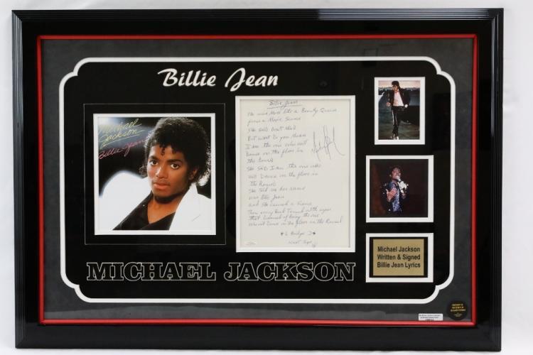 Michael Jackson Signed Handwritten