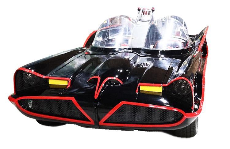 1966 Batmobile Anti-Crime Roadster Fiberglass Replica Built From Bob Buttz Mold *Museum Exhibited*