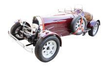 Magnum, P.I. 1927 Bugatti Type 37 Replica Driven by Tom Selleck W/Original Key Fob