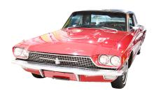 Dean Martin's Candy Apple Red 1966 Ford Thunderbird W/Autographed Photo, Poster & Notarized Letter From Previous Owner *Museum Exhibited*