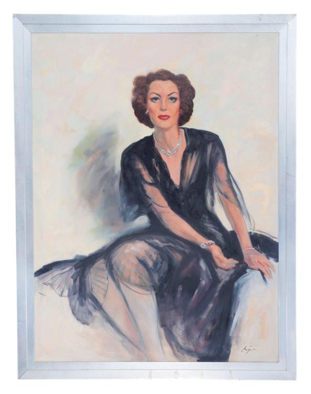 Mommie Dearest Screen Used Framed Portrait of Faye Dunaway as