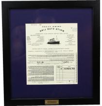Titanic Movie Prop