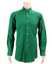 Michael Jackson's Personally Owned Ralph Lauren Green Corduroy Button-Down Shirt W/COA