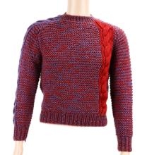 Michael Jackson's Personally Owned Red & Purple Knit Sweater From the Collection of Frank Cascio W/COA & Letter of Provenance