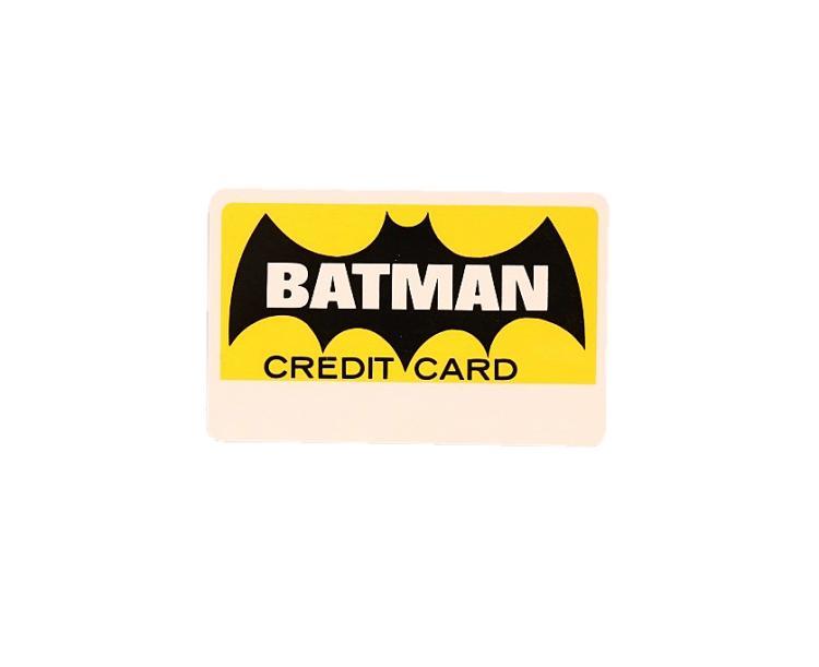 1966 Batman Credit Card Autographed by Adam West