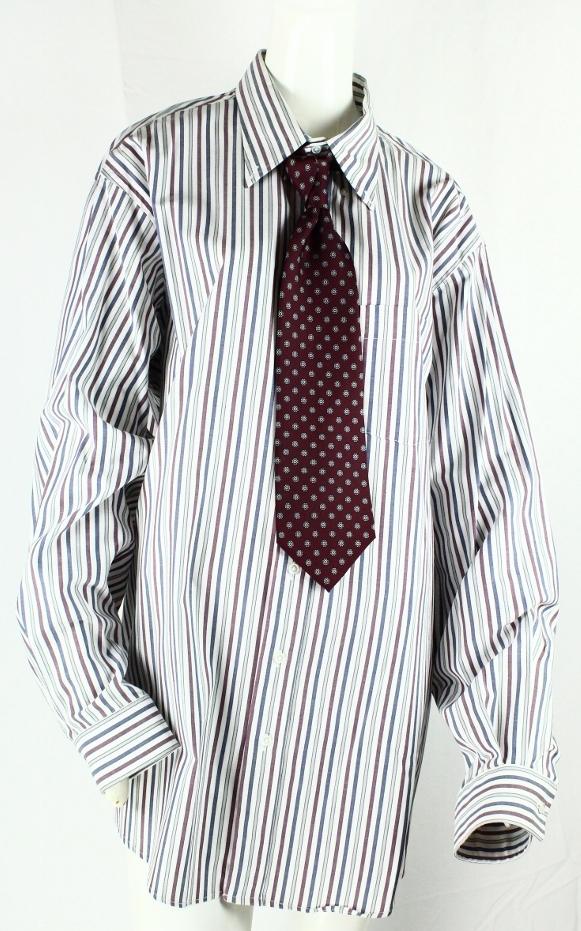 Dan Akyroyd Arrow Pinpoint Oxford Dress Shirt & Pierre Cardin Necktie From The Film