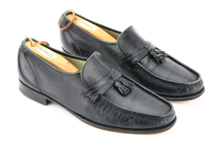"Michael Jackson's Personally Owned ""Motown 25"" Florsheim Imperial Loafers Numbered ""Michael #2"" W/Letter of Authenticity"
