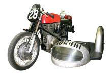 Alfredo Milani?s 1950s Gilera Saturno Piuma 150 Sidecar Race Motorcycle