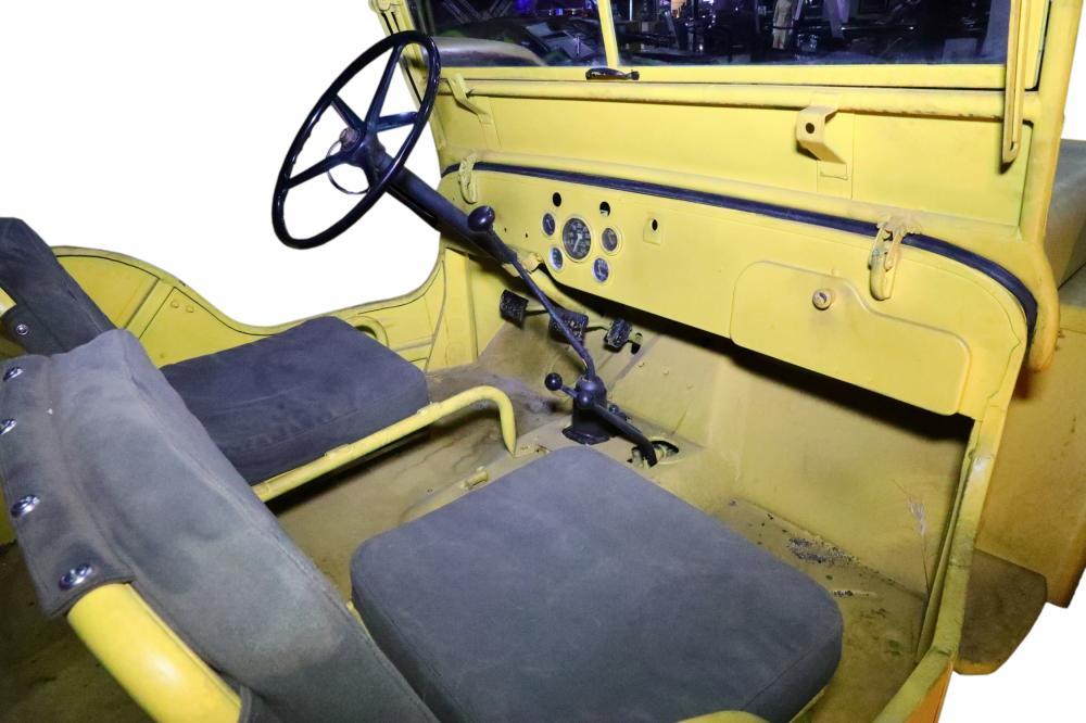 Lot 49: Bumblebee (2018) Screen Used Hero Willys Jeep W/LOA & Bill of Sale