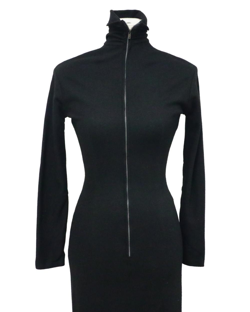 Marilyn Monroe's Black Wool Long Sleeved Dress W/COA
