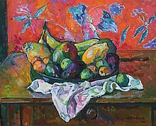 SELVAGGIO MANCINI Antonio,  1921-2008 [ES]. - Nature morte aux fruits, (20)06,