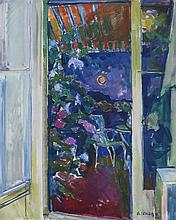 SELVAGGIO MANCINI Antonio,  1921-2008 [ES]. - Terrasse à Barcelone, (19)94,