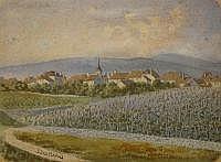 JUILLERAT Jacques Henri, 1777-1860- Vue du village
