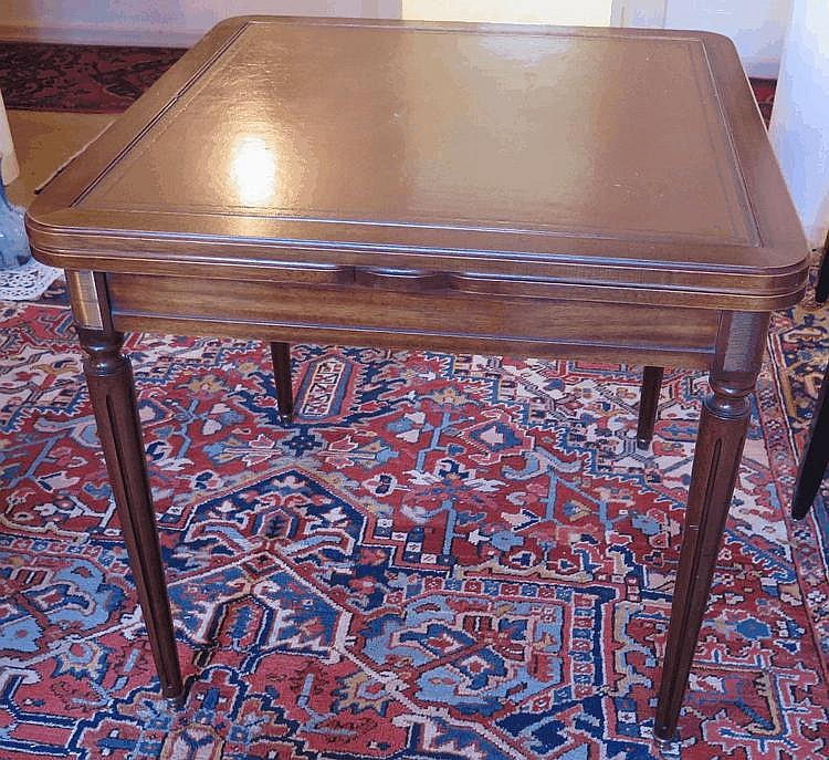 Petite table de milieu style louis xvi xxe s - Table tiroir escamotable ...