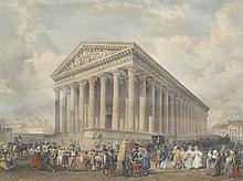 HAGHE Louis,  1806-1885 [BE]. Eglise de la Madeleine,