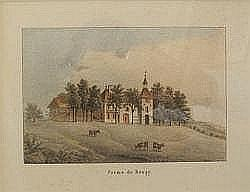 DUBOIS Jean (attribué), 1789-1849 [CH] - «Ferme