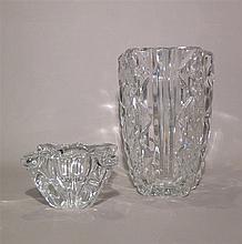 Cristallerie de BACCARAT, (1764-*) [FR]. Ensemble de verrerie, XXe s.
