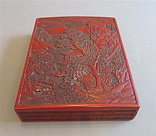 Boîte en laque, Japon, XIXe s.