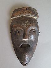 Masque, ethnie Lega, Congo belge.