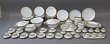Manufacture RAYNAUD & Cie, (1919-*) [FR]. Partie de service de table, Limoges, XXe s.
