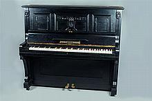 Julius DEESZ [AL]. Piano droit, Sarrebruck, Allemagne, Art Déco.