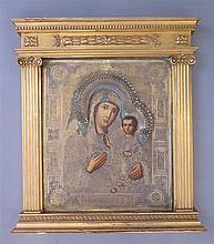 Vierge à l'Enfant, Russie, XIXe s.