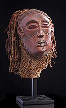 Masque Pwo, ethnie Tschokwé, Angola.